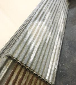 Plaques ondulées acier galvanisé