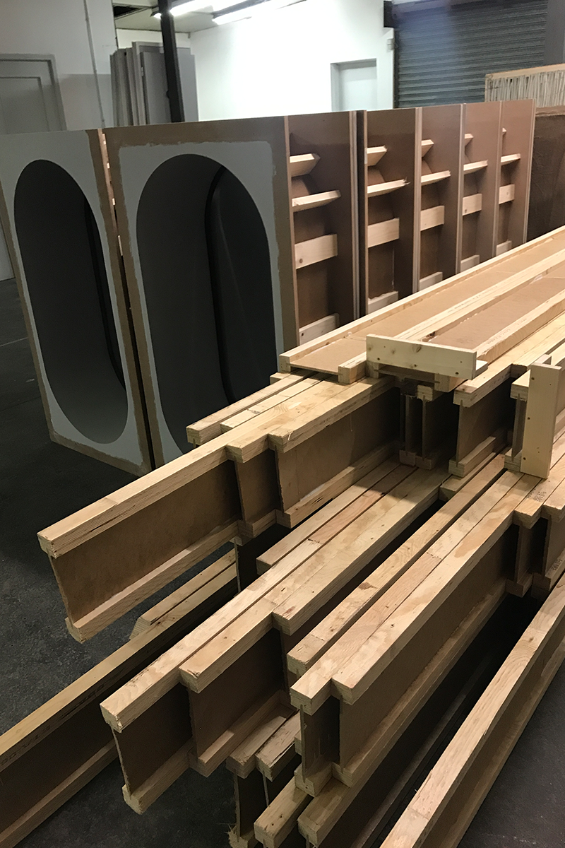 bois poutres construction
