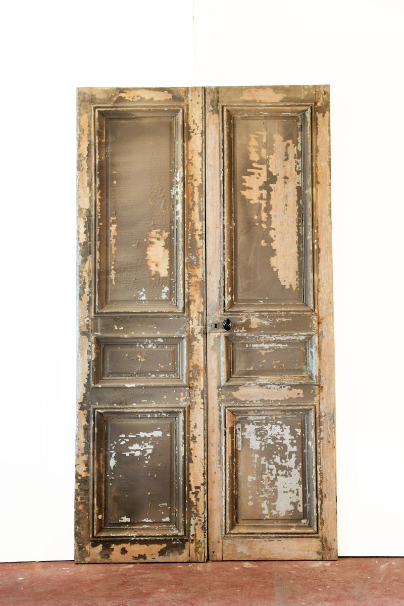 porte ancienne hausmanienne